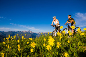 Mountain Bikers Sun Valley Idaho