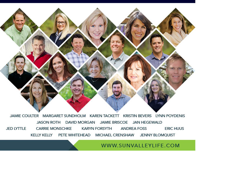 Headshots of each agent at Sun Valley Life Real Estate